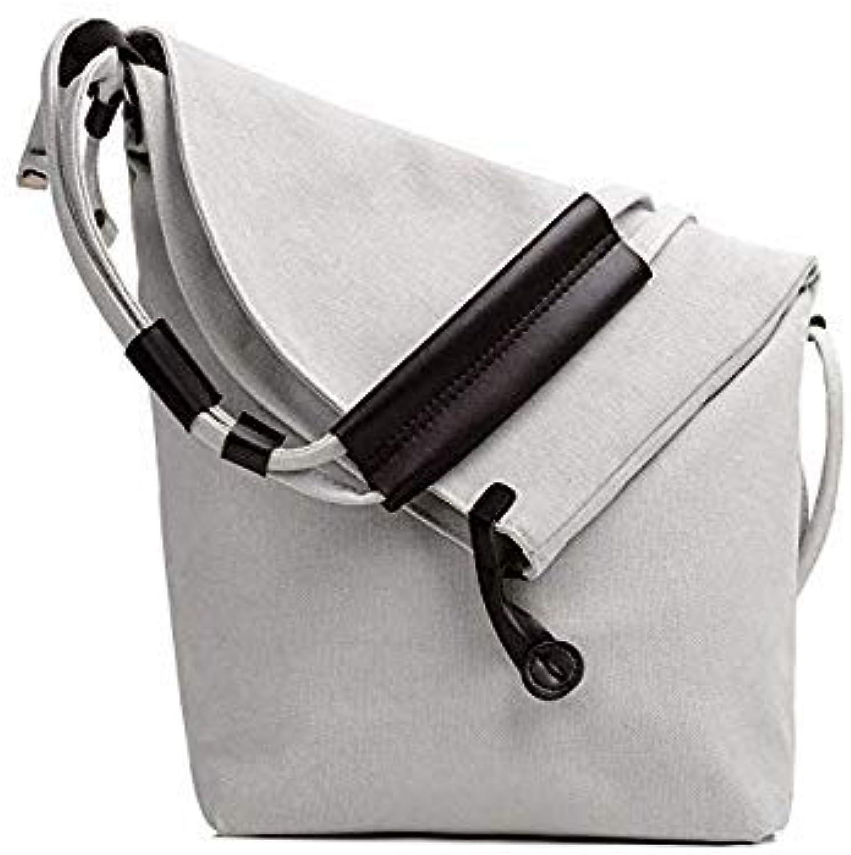 Bloomerang Sharasuna Brand Women's Canvas Handbags High Quality Female Hobos Crossbody Shoulder Bags Vintage Solid Ladies Totes Bag Woman color White 26cm 10cm 30cm