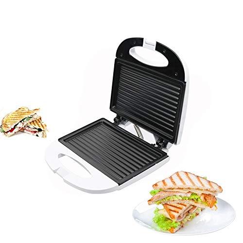 Tostadora Para Sándwiches,Sandwichera Toastie, Mini Sandwichera Eléctrica, Grill Panini, Máquina De Desayuno, Horno Para Freír Carne A La Barbacoa