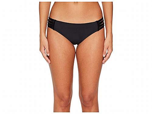 Body Glove Women's Ruby Solid Bikini Bottom Swimsuit, Smoothies Black, X-Small