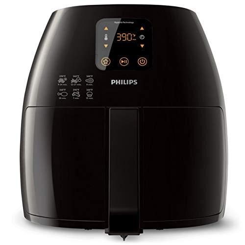 Philips Avance Collection Rapid Air Digital Airfryer XL (2.65lb/3.5qt), Black - HD9240/94CO