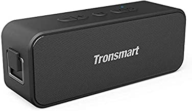 Waterproof Bluetooth speaker, Tronsmart T2 PLUS Portable Speaker with 24 Hours Playtime, IPX7 Waterproof Wireless Bluetoot...