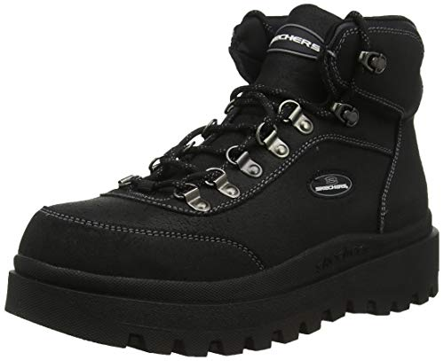 Skechers Girls folks's SHINDIGS Ankle boots, Shaded (Shaded Oily Suede Bbk), 8 (41 EU) thumbnail