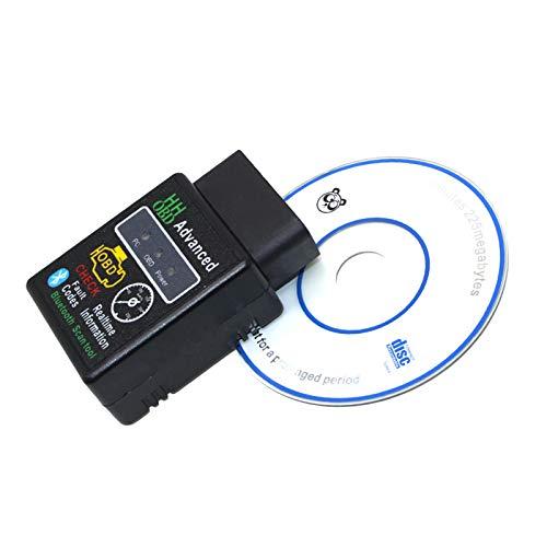 Esenlong Auto Obdii Wireless Scanner Code Reader Kfz-Diagnosetool Schwarz + Weiß