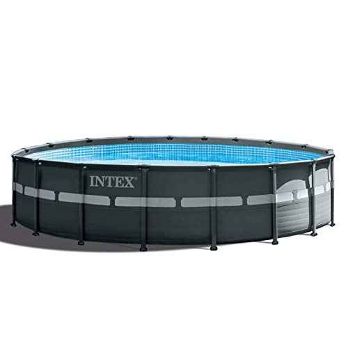 Intex 18ft X 52in Ultra XTR Pool Set with Sand Filter Pump, Ladder, Ground Cloth & Pool Cover