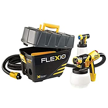 Wagner 0529021 FLEXiO 890 Stationary HVLP Paint Sprayer Sprays Unthinned Latex Includes two Nozzles iSpray Nozzle and Detail Finish Nozzle Complete Adjustability for All Needs