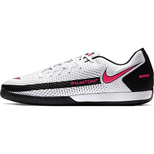 Nike Future 5.3 Netfit Fg/AG Jr, Scarpe da Football Uomo, Bianco, Large EU