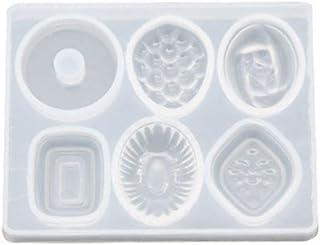 Ocobudbxw Stampo in Resina epossidica Rettangolare Grande Fatto a Mano Stampo in Silicone Strumenti per la creazione di Gioielli