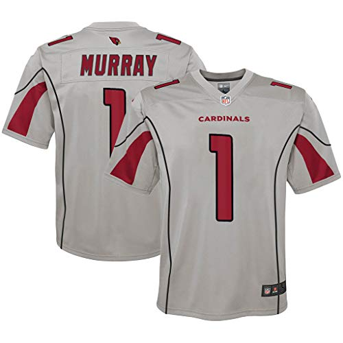 NFL Youth 8-20 Inverted Alternate Color Game Day Player Jersey (Kyler Murray Arizona Cardinals Gray, 14-16)