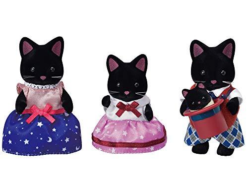 Sylvanian Families 5530 Schwarze Katzen Familie - Figuren für Puppenhaus