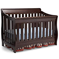 Delta Children Bentley S Series 4-in-1 Convertible Baby Crib Image for Small Moms