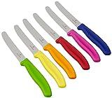 Victorinox Jeu De 6 Couteaux De Table/À Pain Multicolore