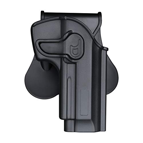 CYTAC OWB Holster for Beretta 92 92FS 96FS / M9 / GSG92 / Girsan Regard MC( No Rail ) - Index Finger Released | Adjustable Cant | Autolock | Outside Waistband | Right Handed