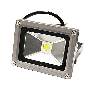 ETOPLIGHTING Flood Wash Light, LED Indoor Outdoor Security Waterproof Landscape Lighting APL1182, 10W Warm White 120V