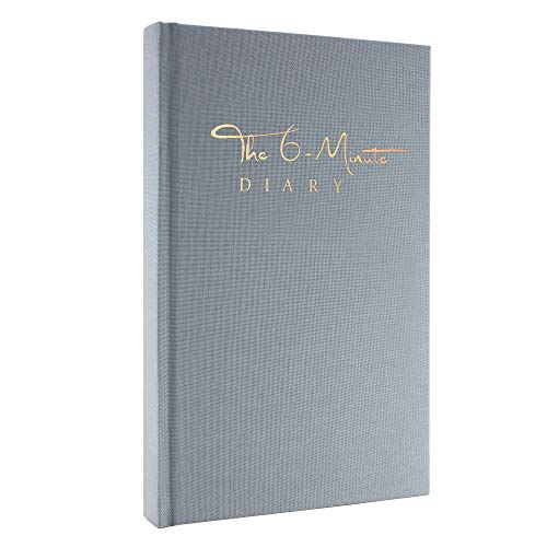 The 6-Minute Diary (Sky Blue) | 6 Minutes a Day for More Mindfulness, Happiness and Productivity | A Simple and Effective Gratitude Journal and Undated Guided Journal | The Perfect Gift