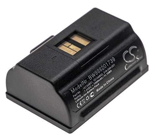 vhbw Akku Ersatz für Intermec 1013AB01, 318-049-001 für Drucker Kopierer Scanner Etiketten-Drucker (1500mAh, 7,4V, Li-Ion)