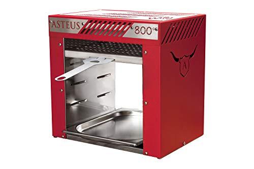 Asteus Grillgerät red Willy V2, Rot, 38 x 22 x 37 cm