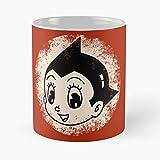 Desconocido Tezuka Anime Manga Atom Tetsuwan Tetsuwanatom Robot Astroboy Best Mug Holds Hand 11oz Made from White Marble Ceramic