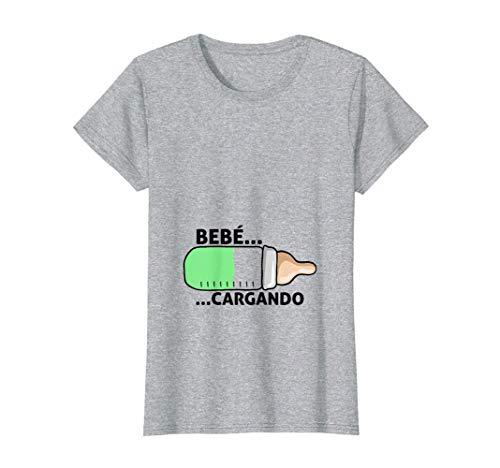Mujer Regalo para futuras Madres , Anuncio Embarazo, Bebé Cargando Camiseta
