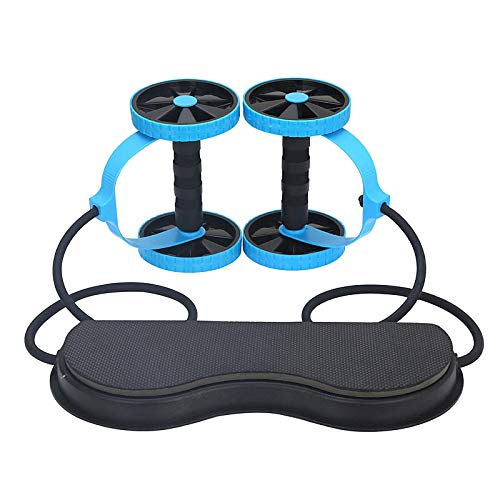 Muscle Exercise Equipment, Home Fitness Equipment, Two-Wheeled Abdominal Strength Wheels, Abdominal Muscle Rollers, Gym Roller Coach Training, Suitable For Male and Female Fitness.