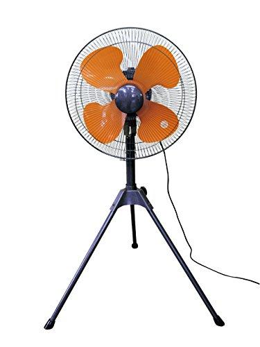 45cm羽根 工場扇【BR-553工業用扇風機/45cm羽根三脚スタンド式】●高さ調整が可能(約115~133cm)●首振り機能 工場扇風機