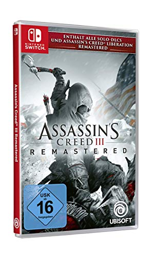 Assassin's Creed III Remastered - Nintendo Switch [Importación alemana]