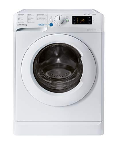 Privileg PWWT X 86G4 DE N Waschtrockner / 8 kg Waschen / 6 kg Trocknen /1400 UpM/Mengenautomatik/Wasserschutz/Anti-Geruch-Programm/Startzeitvorwahl/Wolle-Programm/Eco Motor/Waschen&Trocknen 45' Progr