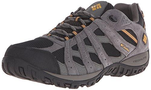 Columbia Men's Redmond Waterproof Low Hiking Shoe, Advanced Traction Technology
