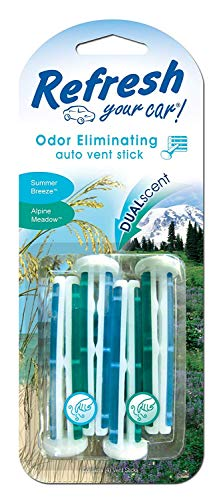 Vent Stick 6 Pack American Covers 09413t Refresh New Car//Cool Breeze
