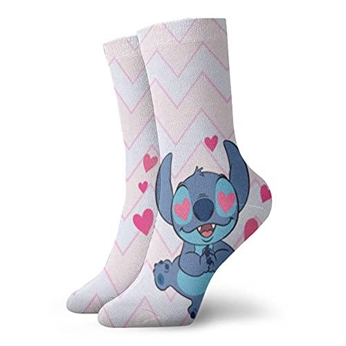 Lilo Stitch Calcetines para hombres y mujeres cuatro estaciones, cómodos, transpirables, resistentes al desgaste, deportes, ocio y fitness
