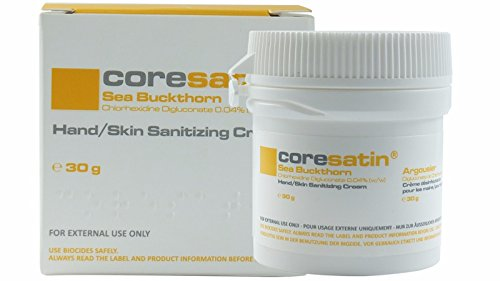 Coresatin Sea Buckthorn Cream for Dry Skin, Eczema, Rosacea, Antiseptic Moisturizing Cream Lotion for Body and Facial Skin Care