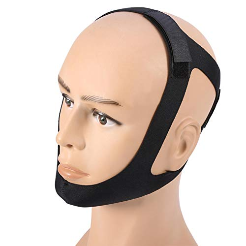 Sleep Legends Chin Strap,Sleep Legends Chin Strap,Anti Snore Chin Strap, Effective Snoring Solution and Anti Snoring Devices, Adjustable and Breathable Stop Snoring Sleep Aid for Men Women, Black