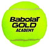 Babolat Gold Academy X3 Pelotas, Adultos Unisex, Jaune (Negr