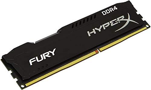 HyperX Fury HP26D4U9S8ME-8X Module de mémoire DDR4 2666 MHz Non-ECC UDIMM RAM PC4-21300 288 broches pour ordinateur de bureau