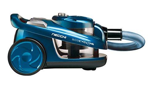 Necchi NH3064 Aspirapolvere Ciclonico, 700 W, Classe A, Blu