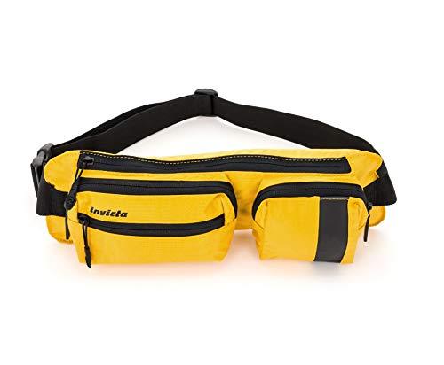 invicta Marsupio Waist Bag Bi-Color Tempo Libero Bianco Arancione 2 LT