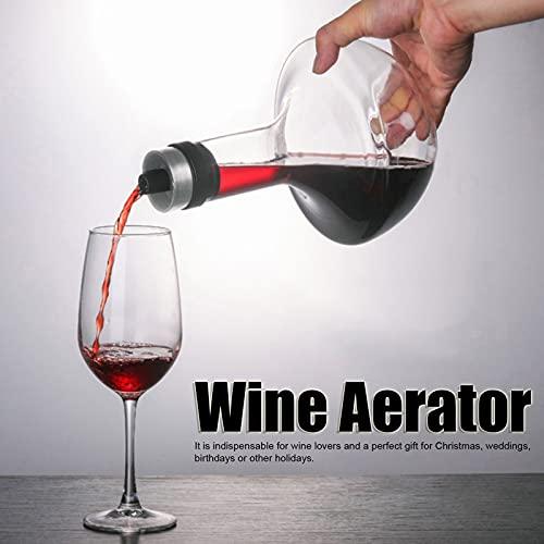 Herramienta de aireación de vino, decantador de buen rendimiento práctico para vino para el hogar para regalo