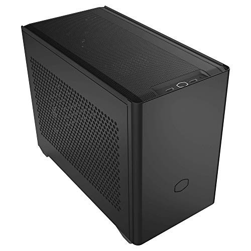 Cooler Master NR200 SFF Small Form Factor Mini-ITX Case with Vented Panel, Triple-slot GPU, Tool-Free and 360 Degree Accessibility, Without PCI Riser