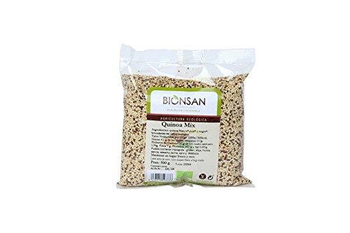Bionsan Quinoa - Mix Blanca, Negra y Roja - 500 g
