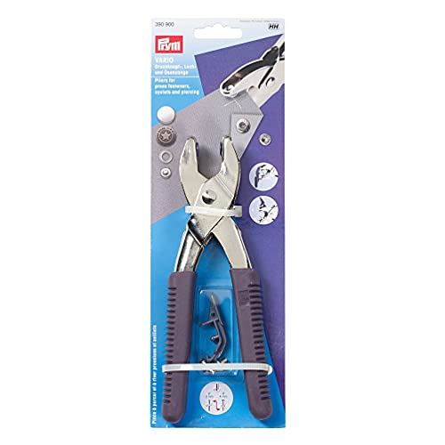 Prym 41163 390900 Vario-Zange mit Lochwerkzeugen