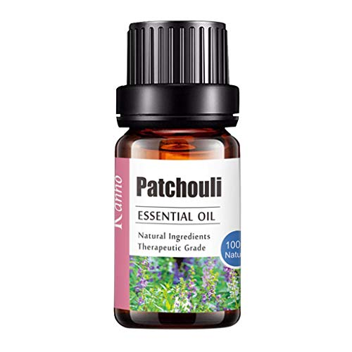 Sayla Ätherische Öle (10ml) - Essential Oil für Aromatherapie - Duftöl für Diffuser - 100% Rein Öle - Lavendel, Rosmarin, Teebaum, Pfefferminz, Eukalyptus, Warten Sie auf 20 Arten (Patschuli)