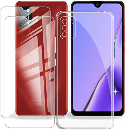 for Cubot Note 7 Case 2 Pieces Tempered Glass Film 5 5 Inches KJYF Mobile Phone HD Screen Protector product image