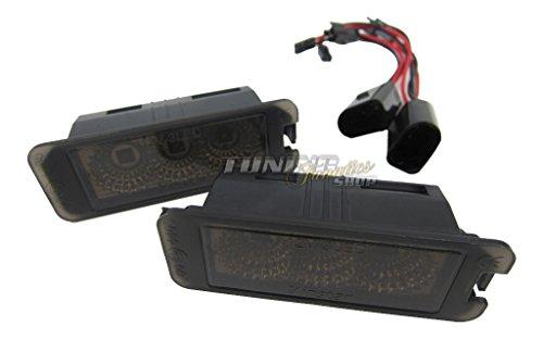 CREE Power LED SMD Kennzeichenbeleuchtung Schwarz BLACK EDITION SET 1K CANBUS