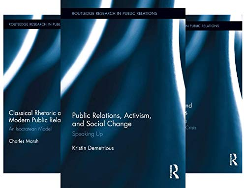 Routledge Research in Public Relations (9 Book Series)
