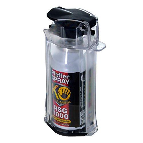 Columbia RSG 1000 Pfefferspray Abwehrspray KO Professional Pfefferspray Set mit Sicherungsklappe