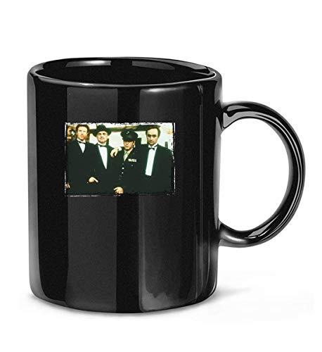 Tazas de té con el #Padrino (1972) - #James #Caan #Marlon Brando, Al #Pacino en uniforme #John #Cazale