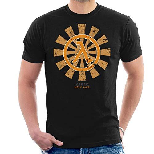 Half Life Retro Japanese Men's T-Shirt