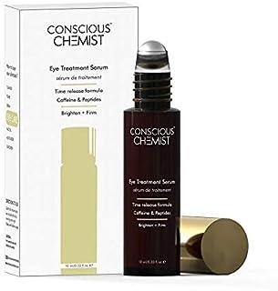Conscious Chemist Eye Treatment Serum | Encapsulated Caffeine, Peptides & Vitamin C | Brighten & Firms | Treats Dark Circl...