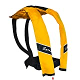 Eyson Slim and Neckline Comfortable Inflate Inflatable PFD Survival Aid Sailing Life Jacket Vest...