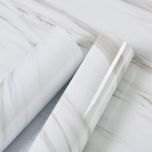 Takarafune壁紙大理石剥がせる壁紙シール厚手防水DIY家具リフォームシールカッティングシート多用途ウォールステッカー