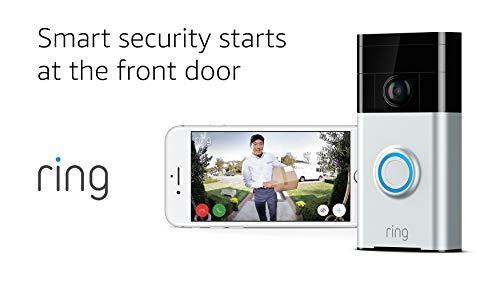 Timbre con video inteligente habilitado para WiFi de timbre ~ USADO